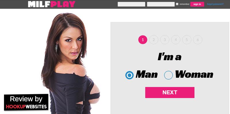 Milfplay.com homepage